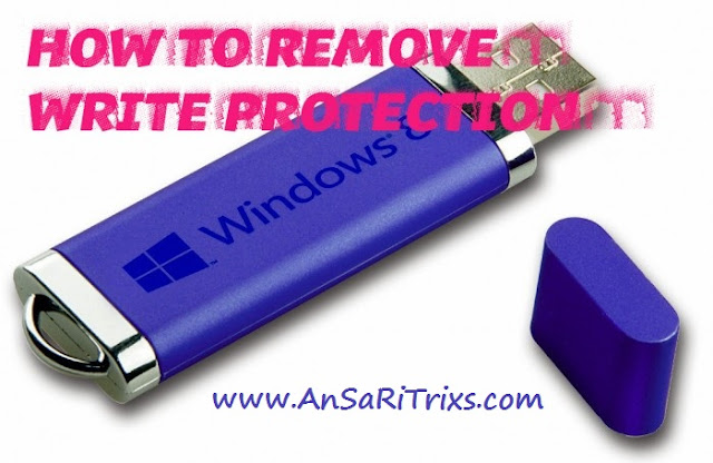 How to Remove Write Protected Error From USB or Memory Card