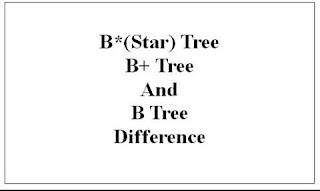 b-star and binary tree