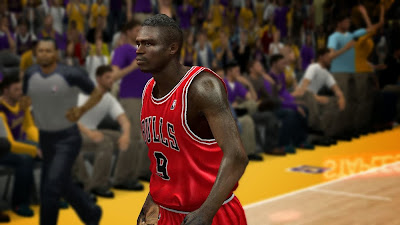 Luol Deng Mini Mohawk Haircut