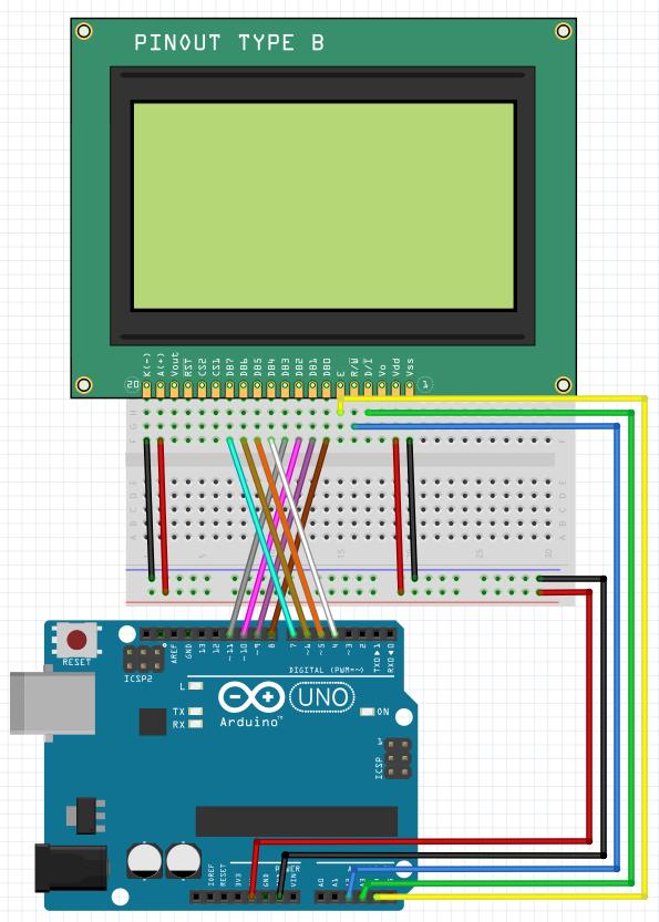 Lcd12864 Arduino Example
