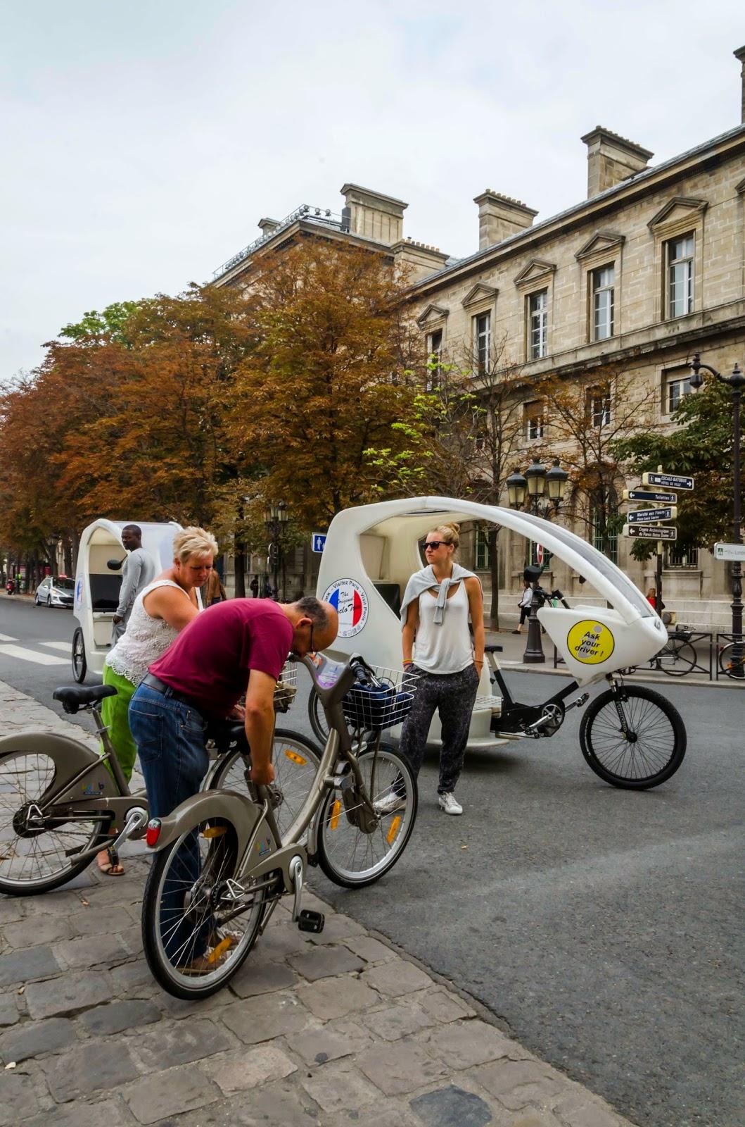 Bicicletas de Paris
