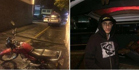 ROMU Comando de São Caetano do Sul detém meliante após roubo pela área central