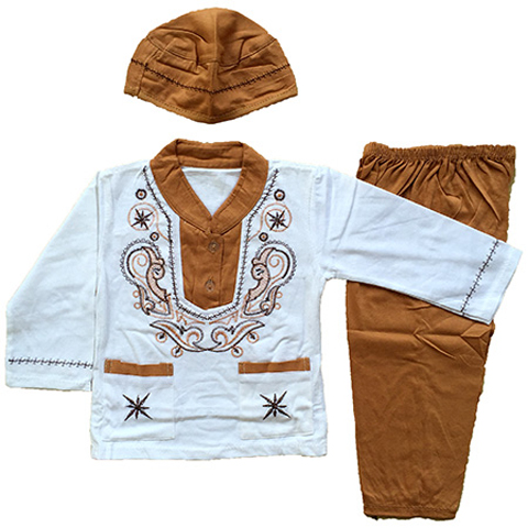 baju muslim anak laki laki 1 tahun