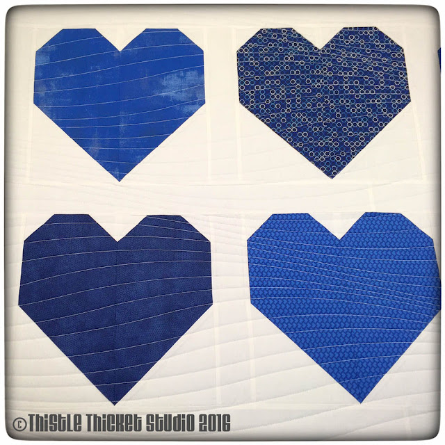 Thistle Thicket Studio, quilts for peace, #quiltsforpeace, Cluck Cluck Sew heart block