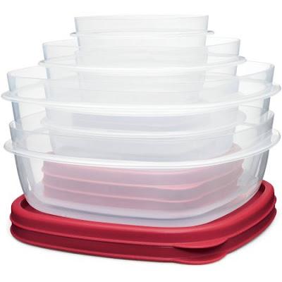 Bộ hộp nhựa đựng thực phẩm 12 hộp bonus 2 hộp Rubbermaid háng xách tay từMỹ