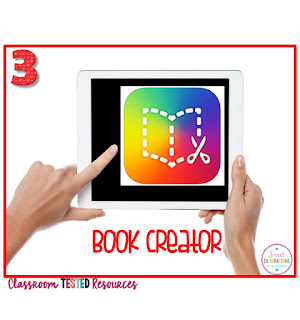 Book Creator for biography book reports