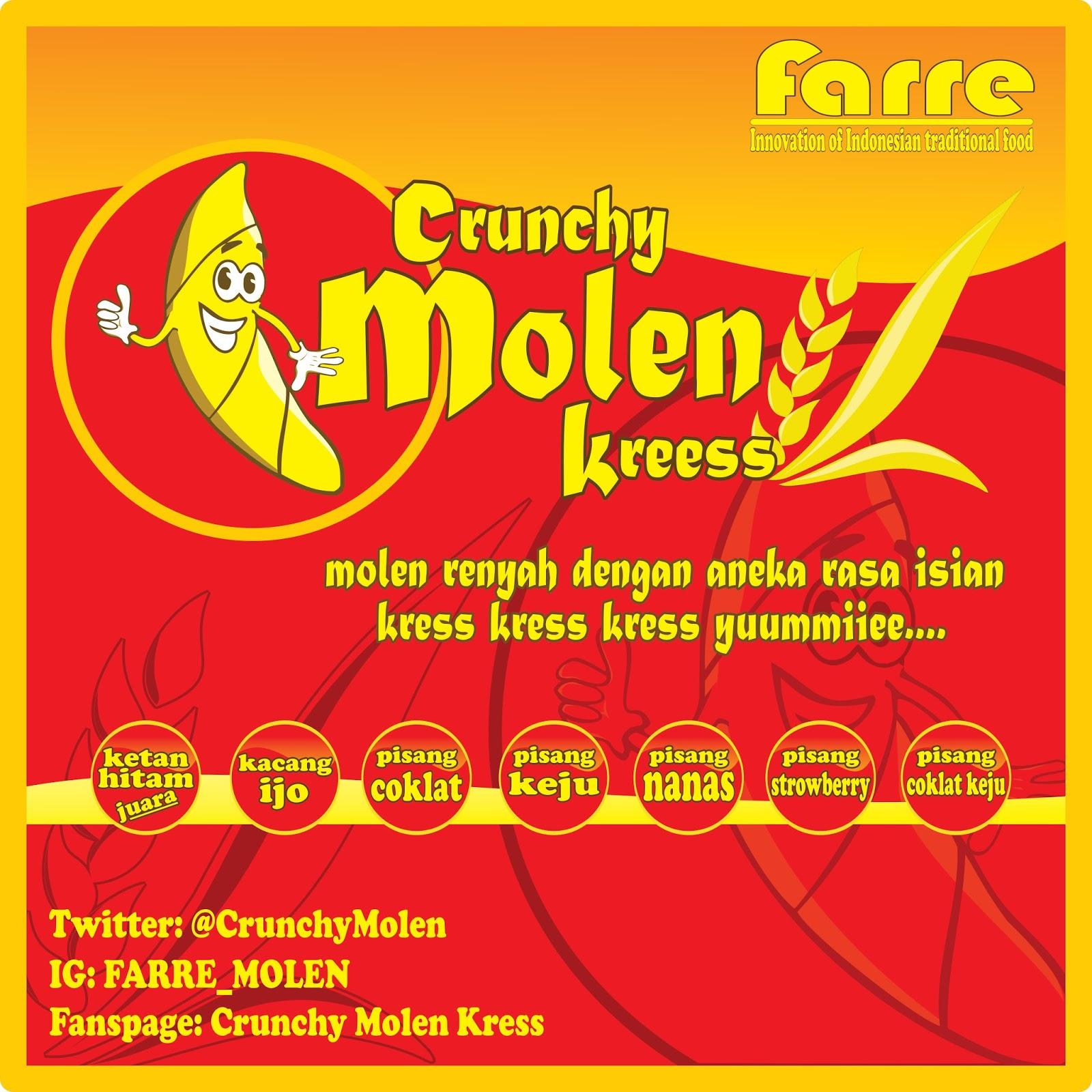 Lowongan Kerja Crunchy Molen Kreess Solo - Ayo Kerja