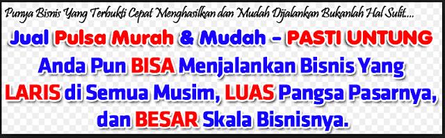 Agen Pulsa Murah Di Bandung Bisa Jadi Kaya Lho..!!