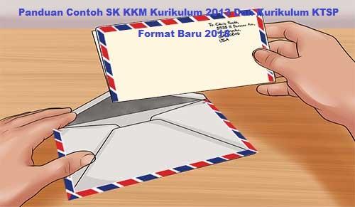 Panduan Contoh SK KKM Kurikulum 2013 Dan Kurikulum KTSP Format Baru 2018
