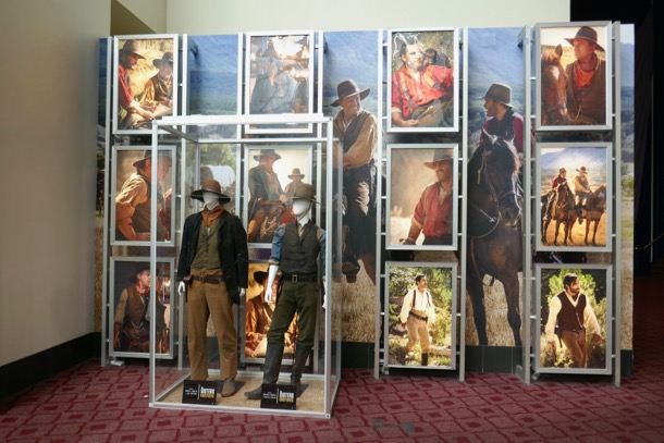 Sisters Brothers movie costume exhibit