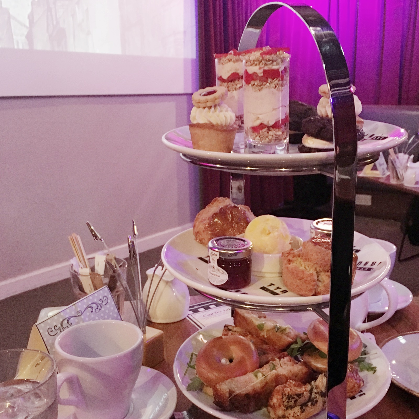 Afternoon Tea at Tyneside Cinema Newcastle