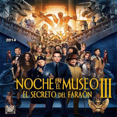 Noche en el Museo - III - El secreto del Faraón - [2014]