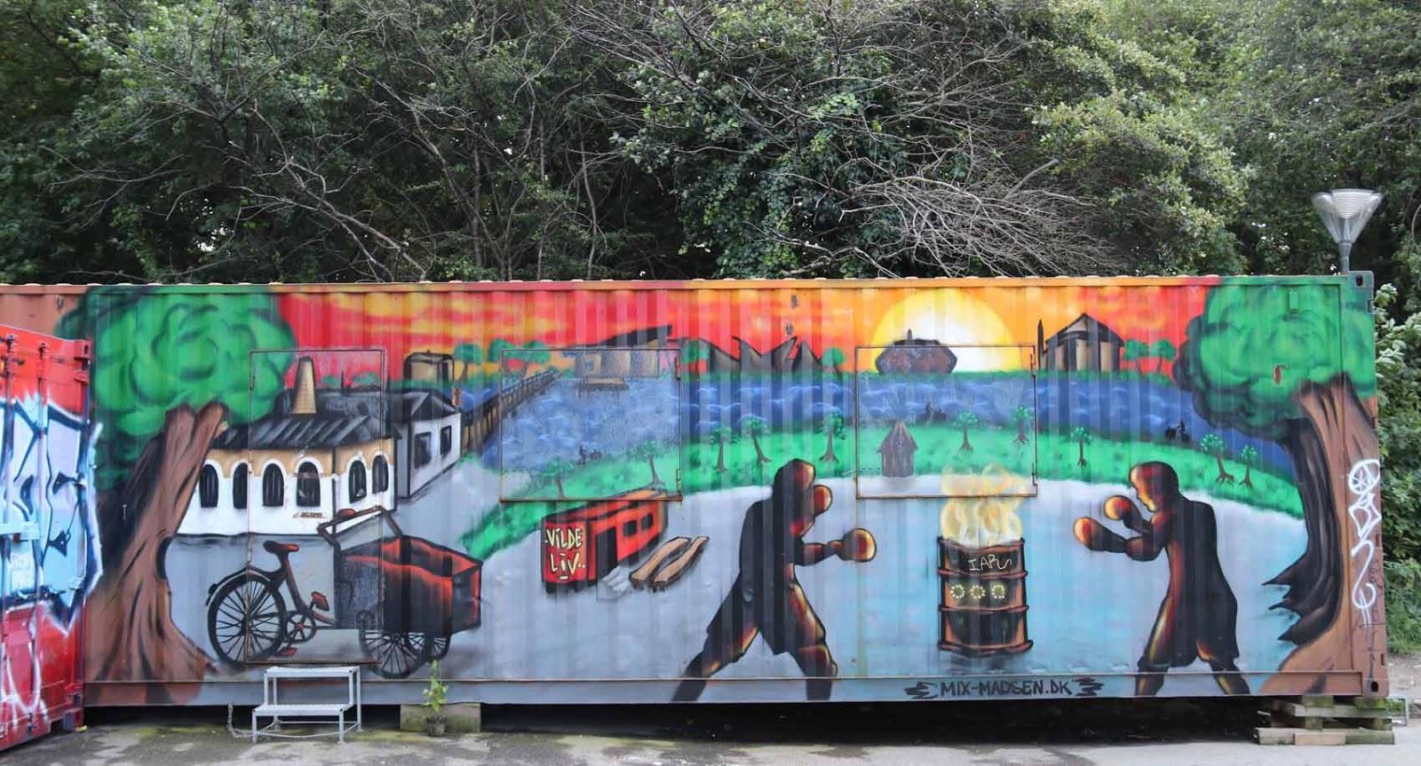 Graffitimaalauksia