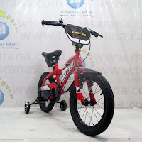 Sepeda Anak United Power Junior 16 Inci Red