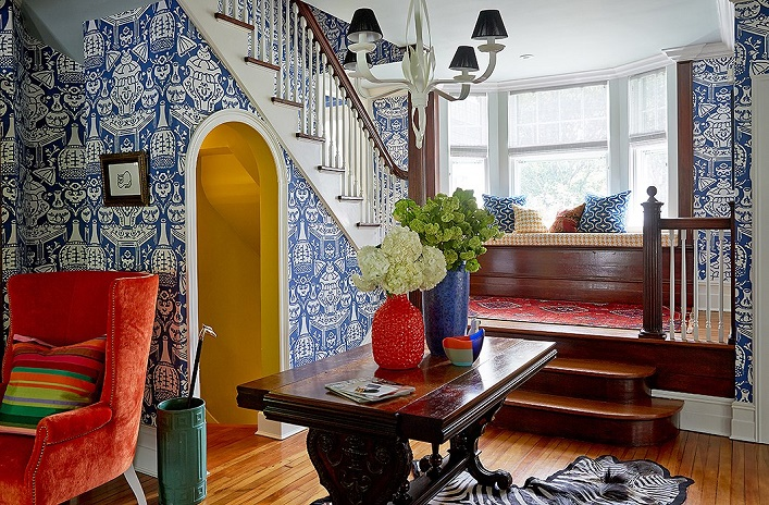 Mix And Chic Home Tour A Bright And Colorful Home