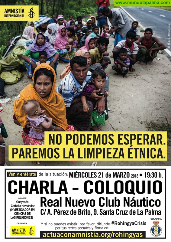 Charla-Coloquio Amnistía Internacional