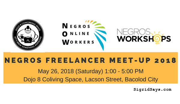 Negros Freelancer Meet-Up 2018