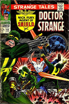 Strange Tales #155, Nick Fury and SHIELD