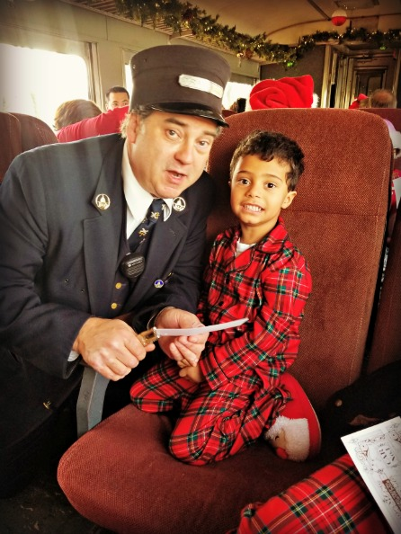 North Pole Limited Train Conductor