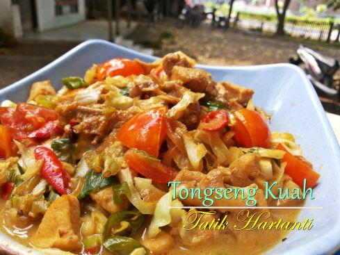 Resep tongseng ayam - butania.com -