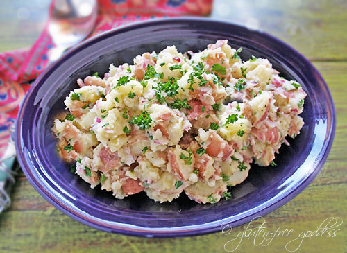 Red Potato Salad Recipe with Horseradish