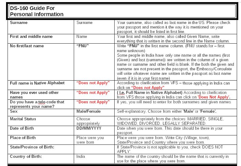 p1  Nonimmigrant Visa Application Form Ds on