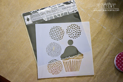 Xyron and StencilGirl Blog Hop - Cookies and Cupcakes