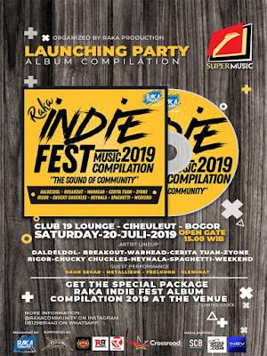 Dari Bogor, Raka Indie Fest Music Compilation 2019 Resmi di Rilis!