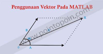 Penggunaan Vektor Pada MATLAB