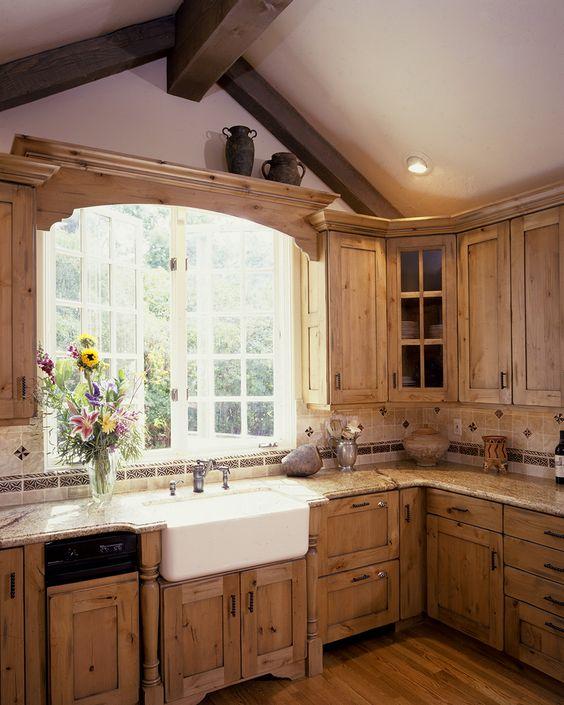 Amazing Brown Wooden Kitchen Cabinets Kitchen Designs