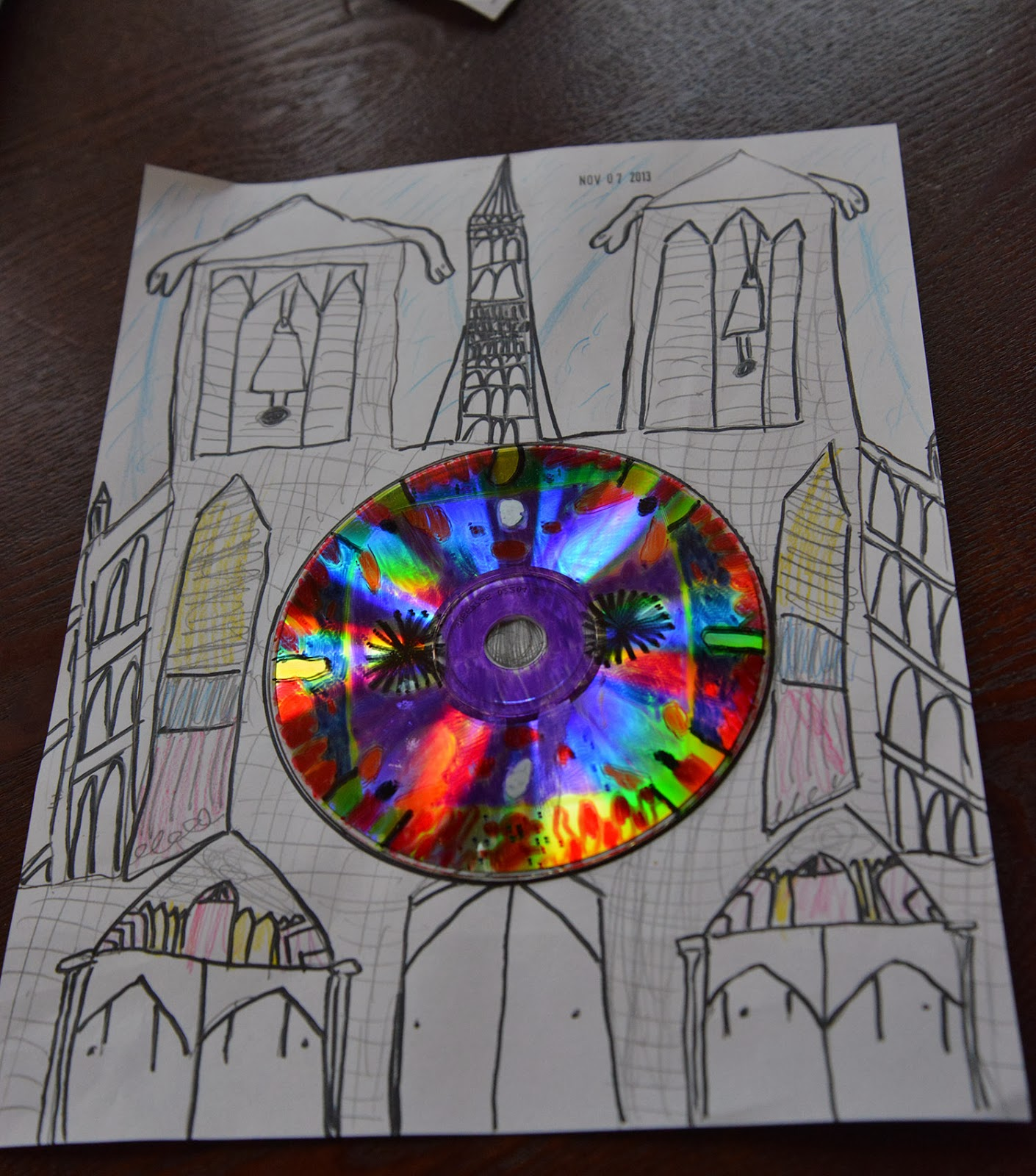Gothic Architecture Cathedrals And Rose Window Craft