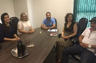 Prefeito e Secretários de Nova Palmeira se reúnem com coordenadores do IFPB-PICUÍ