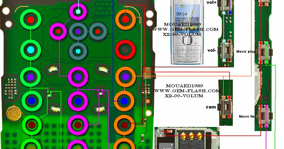 Circuit Diagram Of Nokia X2 00 - Wiring Diagram Img