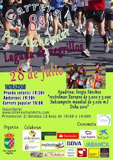 Carrera Pro Alzeimer Laguna de Negrillos