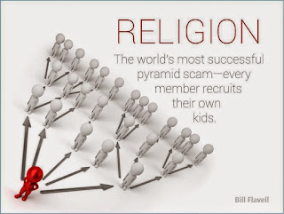 Hinduism is a pyramid scheme