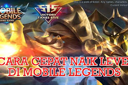 8 Cara Cepat Naik Level di Mobile Legends