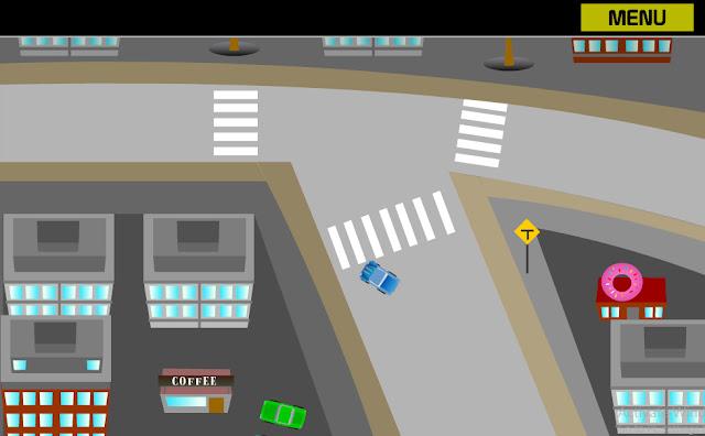 Bagian dari permainan Simulasi Mobil