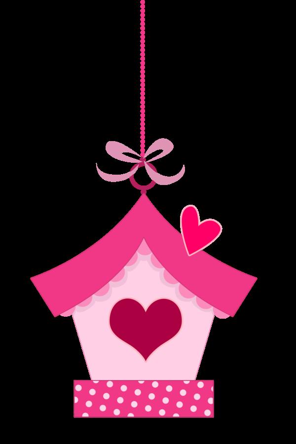 Clipart de Pajaritos Rosa Enamorados  Oh My Bodas!