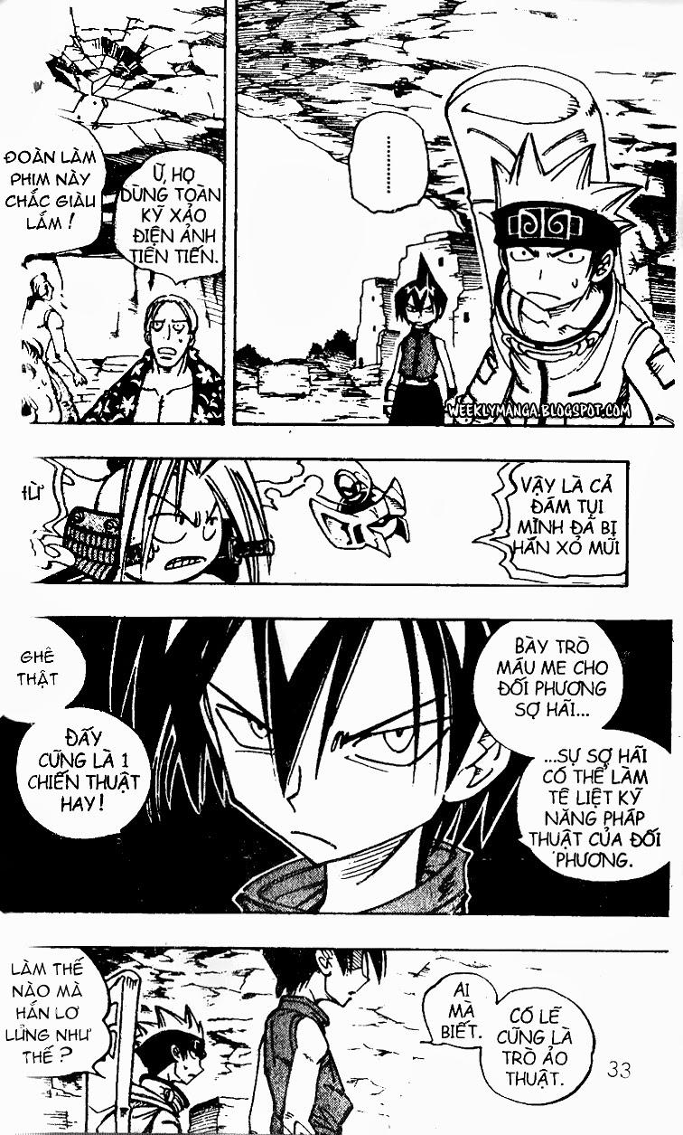 Shaman King [Vua pháp thuật] chap 99 trang 4
