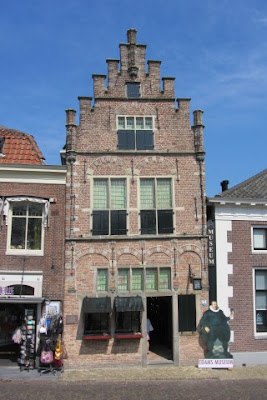 Gevel in Edam