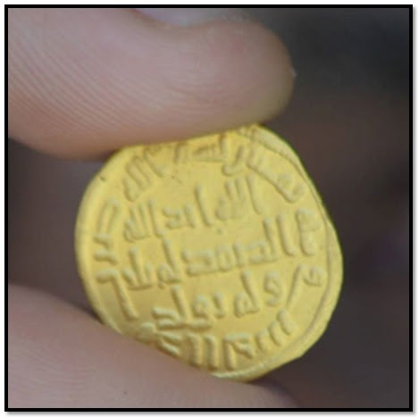 New Discovery, Alexandria: Islamic Gold Coin Uncovered in Abuqir Bay in Alexandria