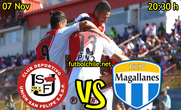 Ver stream hd youtube facebook movil android ios iphone table ipad windows mac linux resultado en vivo, online: Union San Felipe vs Magallanes