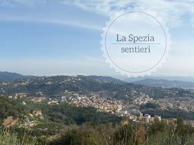 Sentieri sulle colline del Golfo della Spezia: panorama