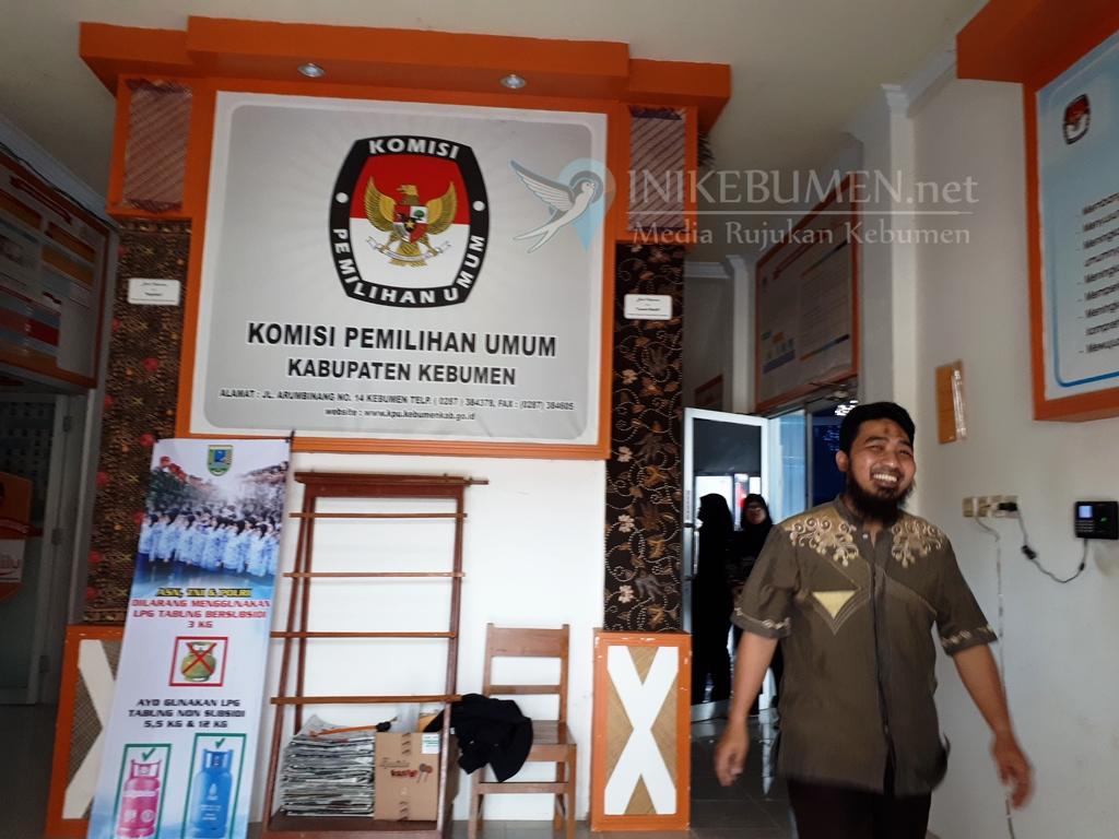 Melalui Layar Lebar, Nanti Sore KPU Kebumen Bakal Tampilkan Hitung Cepat Pilgub Jateng