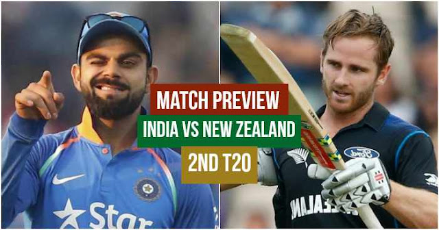 Match Preview: India vs New Zealand 2nd T20, Rajkot 2017
