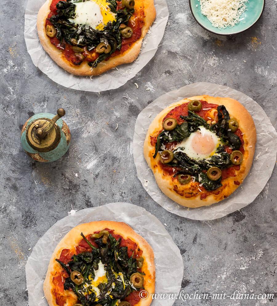 Pizza Fiorentina