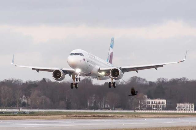 Opinion de vuelos Eurowings y aviones de la flota A320