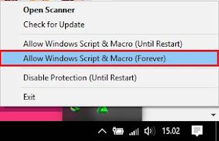 cara ampuh mengatasi windows script host yang dinonaktifkan