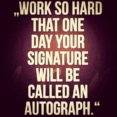 Motivation Quotes :  Signature to Autograph - Kshitij Yelkar