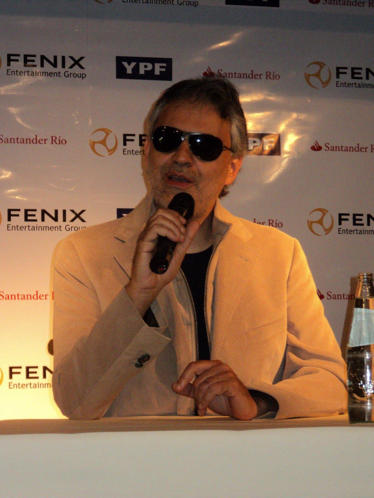6f22a907 En una muy distendida conferencia de prensa, realizada en uno de los  lujosísimos salones del hotel Faena, de la zona de Puerto Madero, el  maestro Andrea ...
